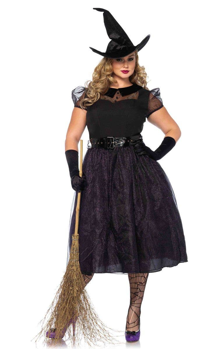 55aaa737ecf Darling Spellcaster Plus Size Women's Witch Costume