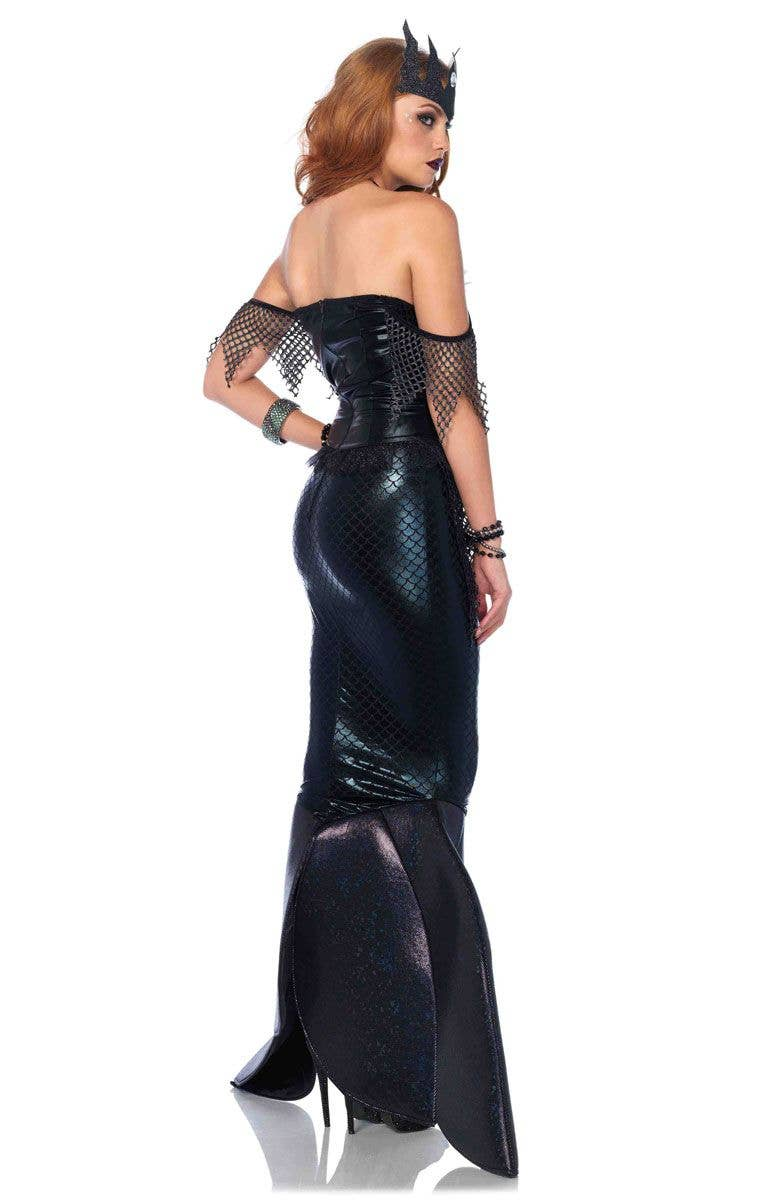 black mermaid women's costume  sexy mermaid halloween costume