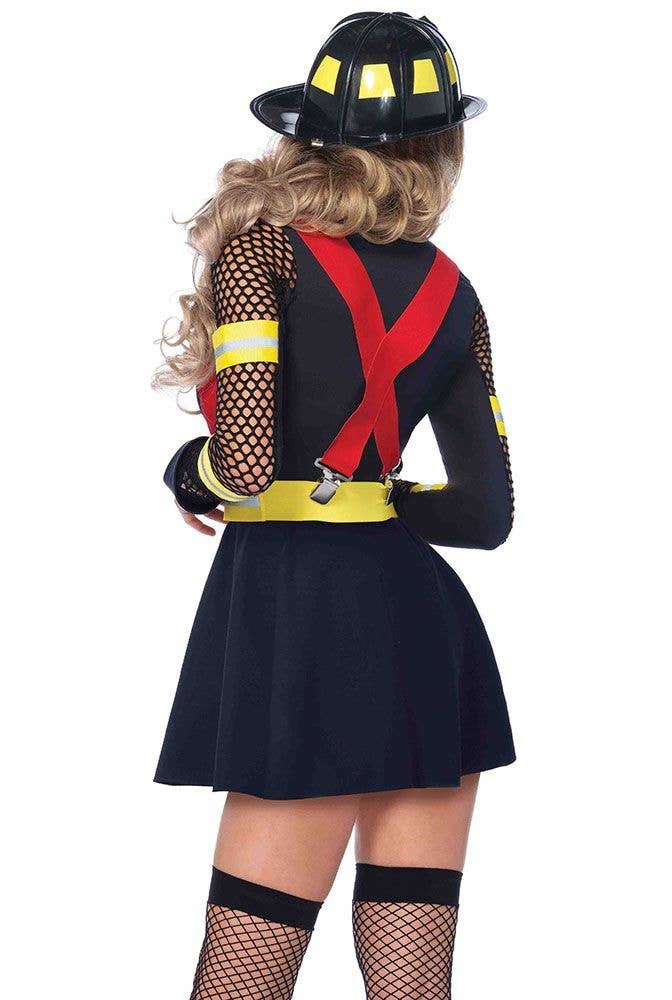 Sexy Firefighter Women S Costume Fire Captain Women S Sexy Costume