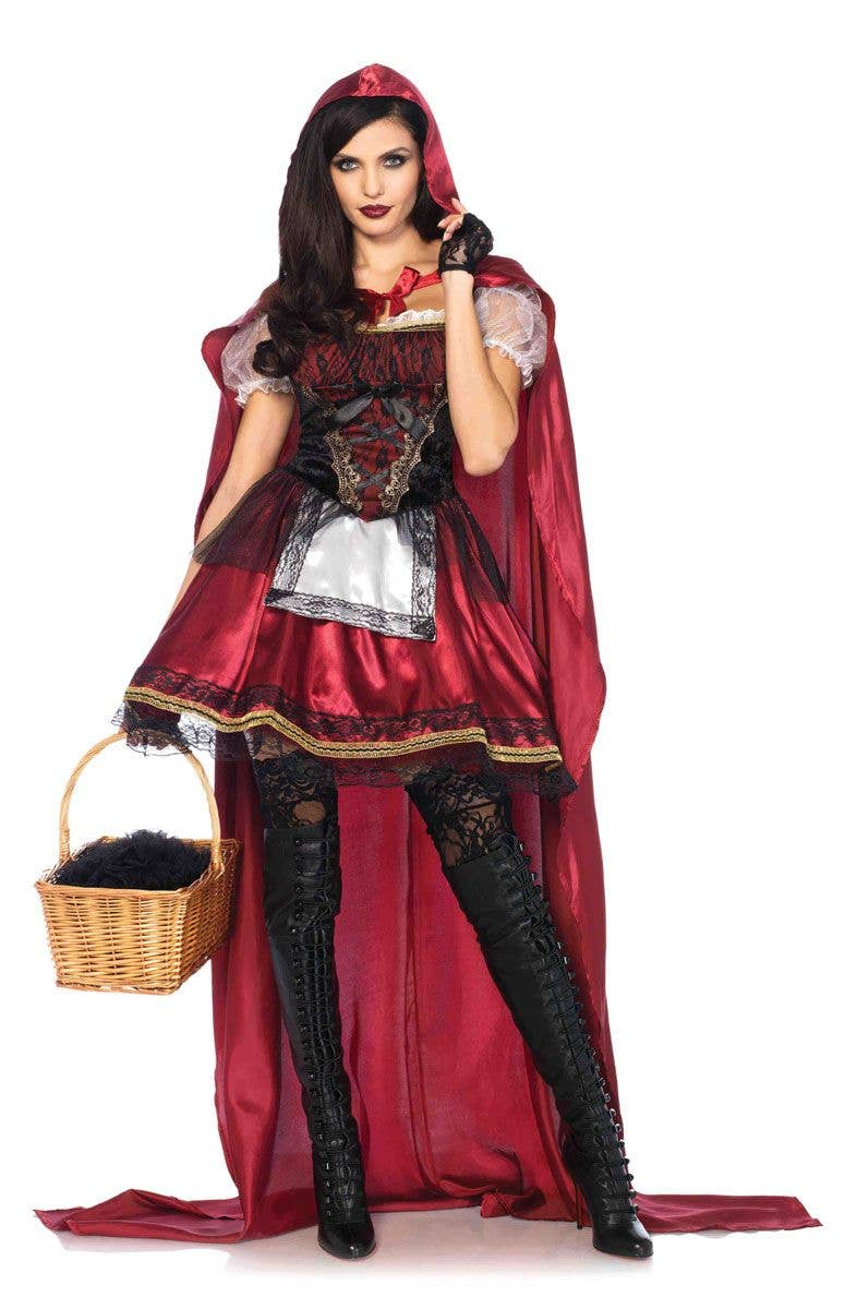 a0741207c7f Deluxe Red Riding Hood Sexy Women s Costume Main Image