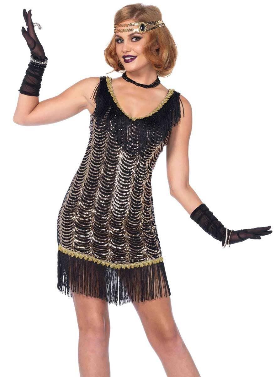 charleston charmer gatsby costume  women's 1920's flapper