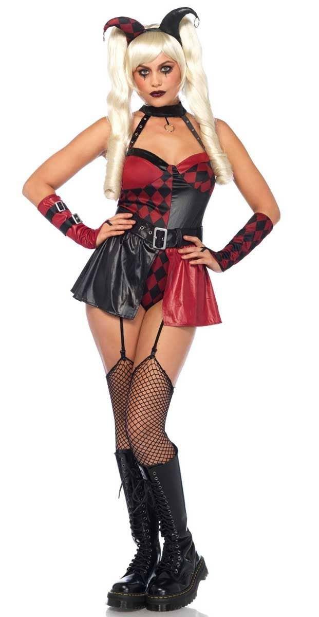 DEBRA: Harley quinn sexy halloween costume