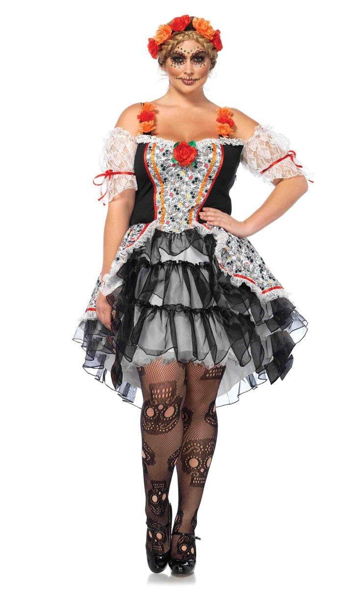 fb3ababaf41 Sugar Skull Senorita Plus Size Women's Costume