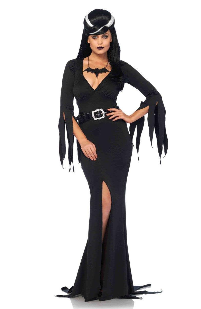 1fb623d9255 Elvira Women's Halloween Costume   Gothic Vampire Women's Costume