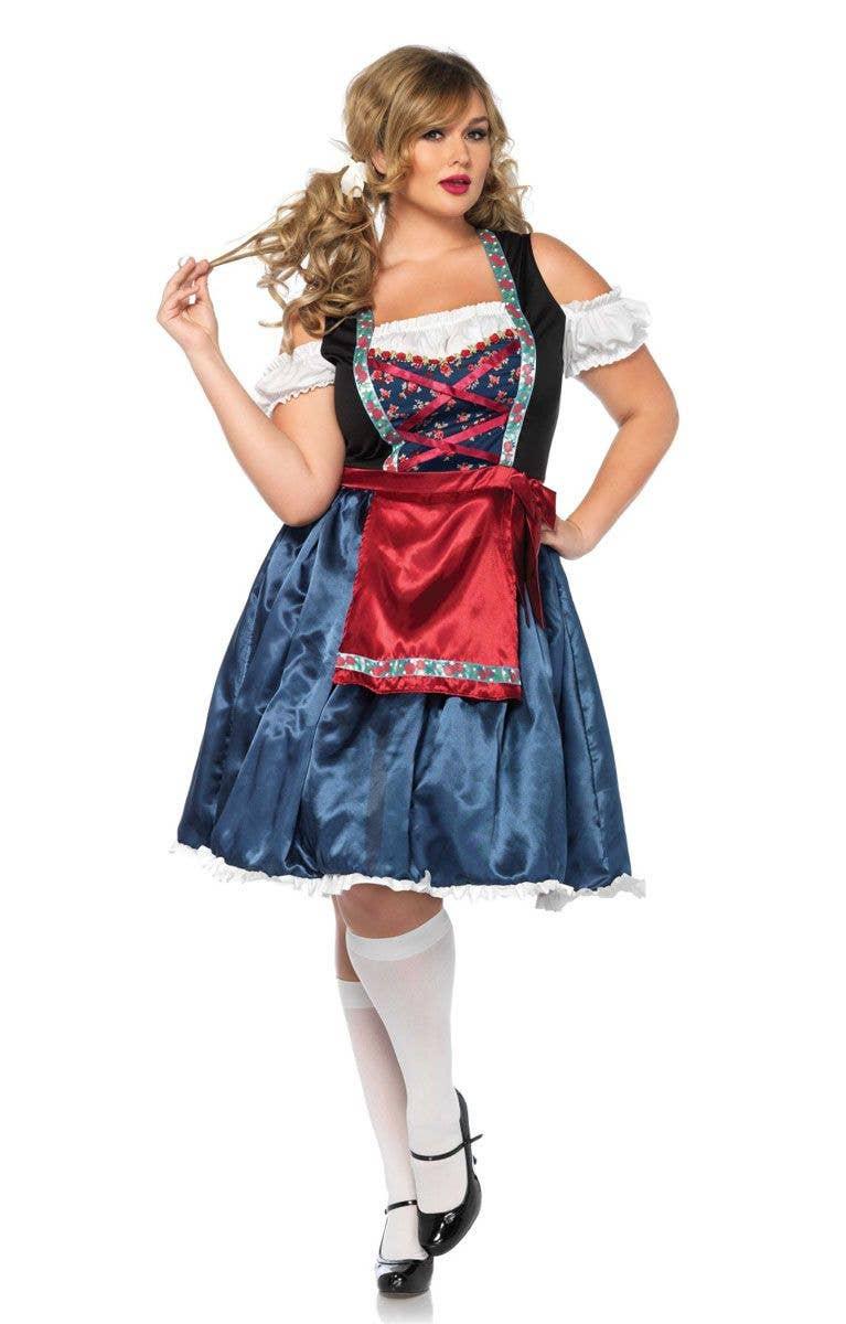 58506a1a3eb0 Women's Oktoberfest Costume | Plus Size German Beer Girl Cotume