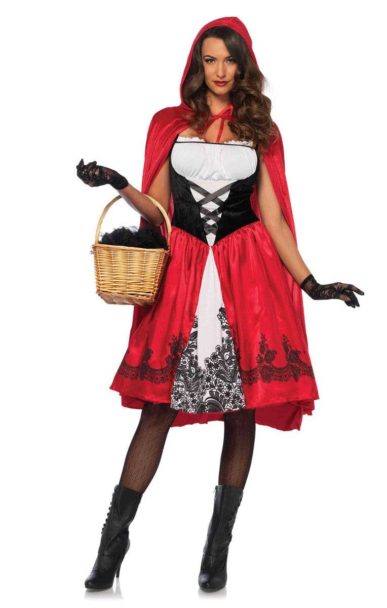 76f38b4d445 Women s Deluxe Classic Red Riding Hood Costume Main Image