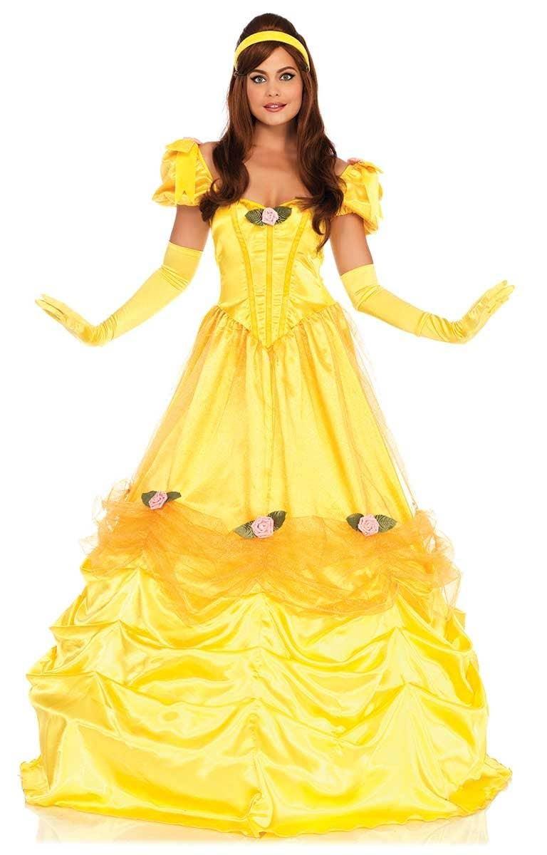Adult belle costume disney