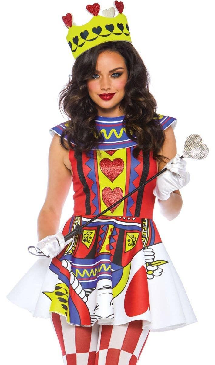 Costume hearts queen sexy