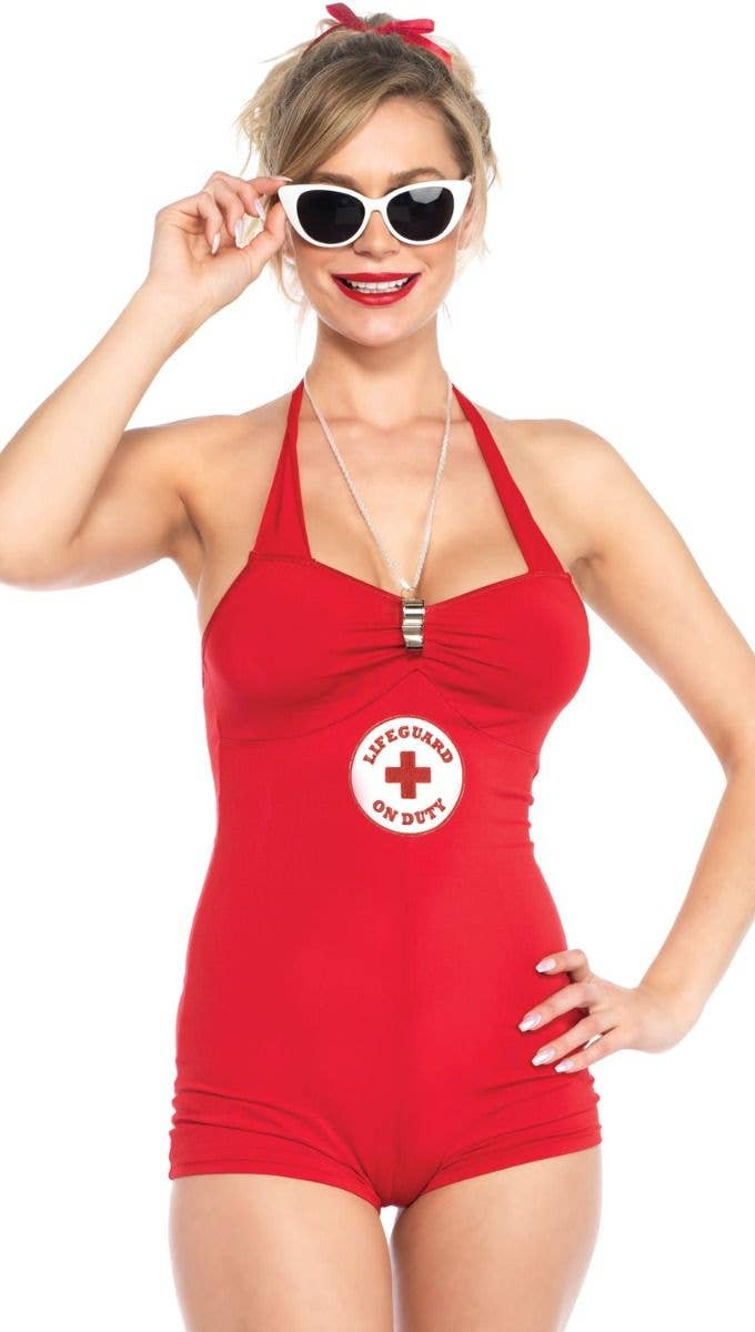 Sexy life guard costume