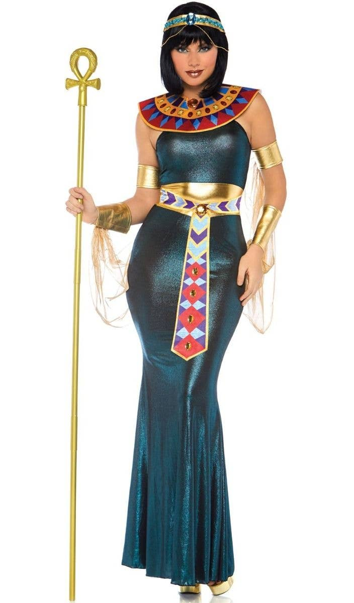 ce0b8576d77d8 Nile Goddess Women's Sexy Cleopatra Costume