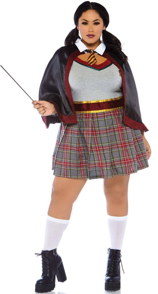 Gryffindor School Girl Plus Size Costume Sexy Hermione Costume