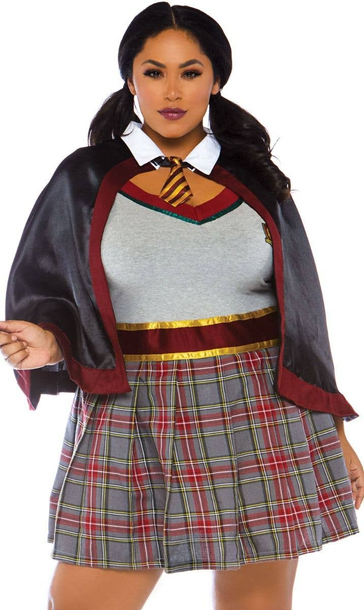 Gryffindor School Girl Plus Size Costume Sexy Hermione Costume