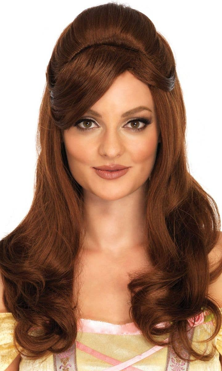 Storybook Beauty Women S Curly Brown Belle Wig