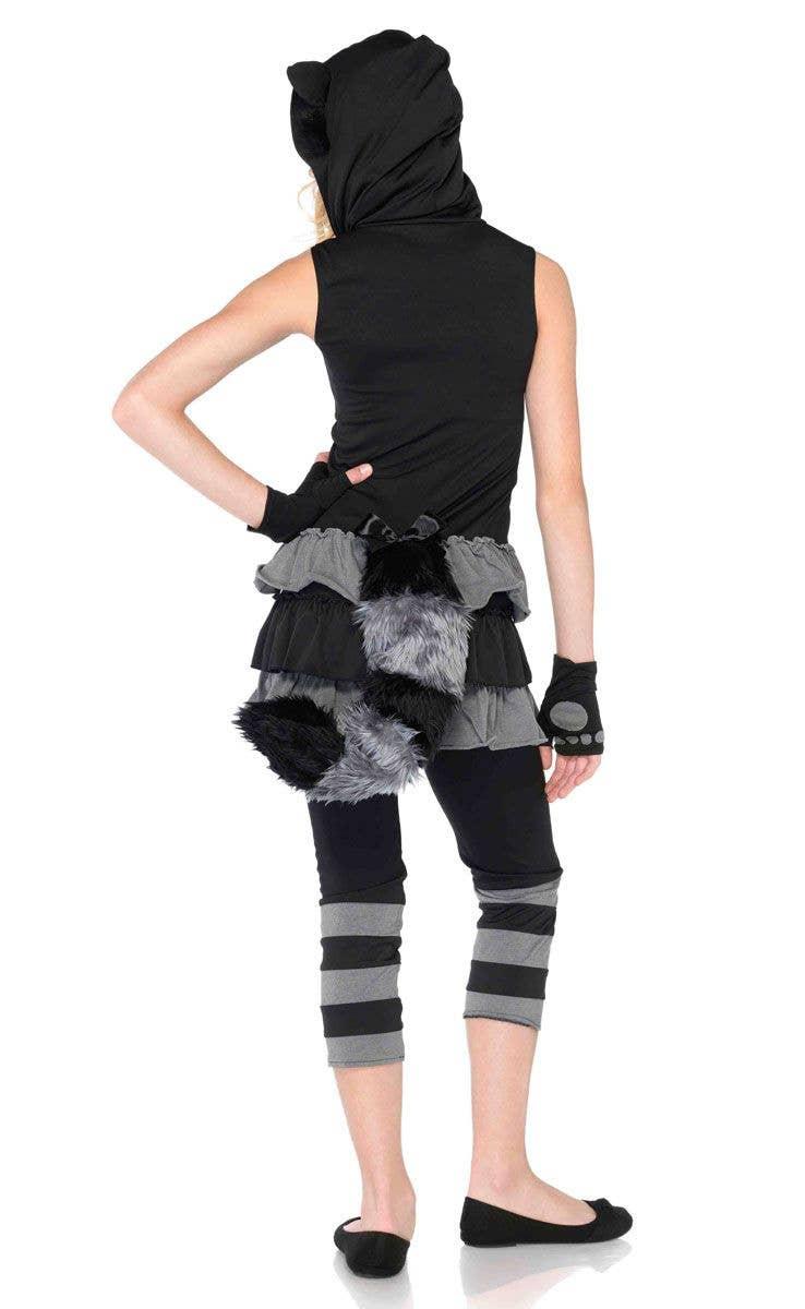 Rockin Raccoon Teenage Girls Costume Cute Raccoon Girls Costume