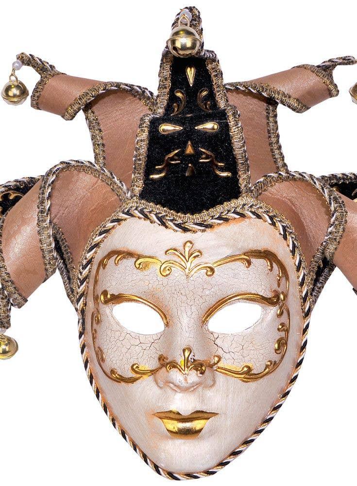 Full Face Makeup Tutorial Video: Full Face Deluxe Cream Venetian Masquerade Mask