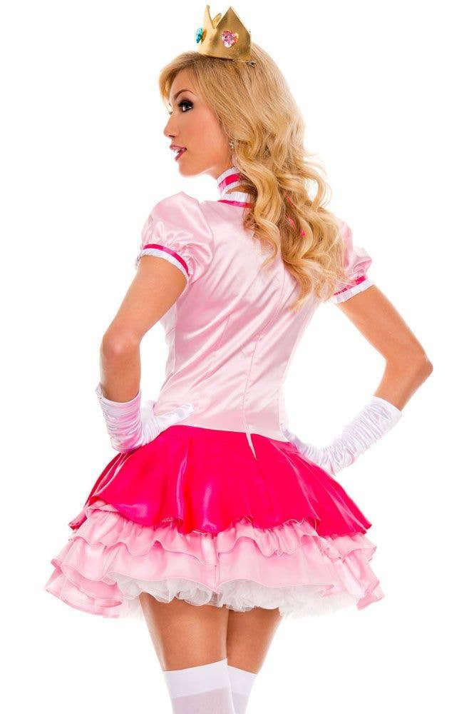Peachy Princess Sexy Womens Costume Adult Princess Peach Costume