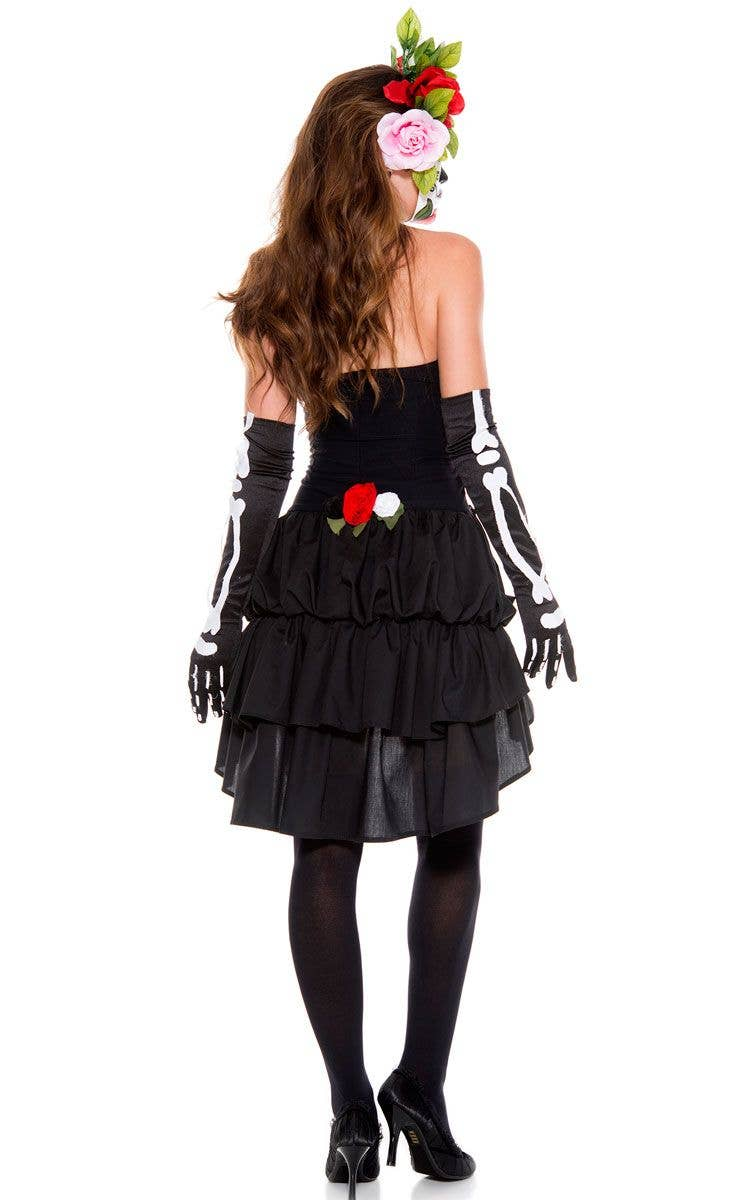 2b68dc23 Mexican Sugar Skull Fancy Dress Costume   Sexy Day Of The Dead Costume