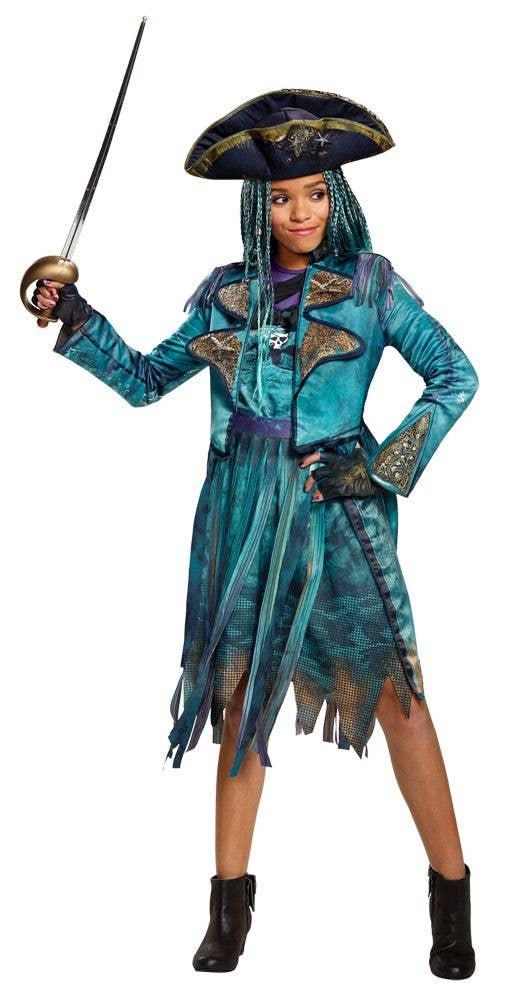 Descendants 2 Disney Uma Pirate Costume Deluxe Kids Uma