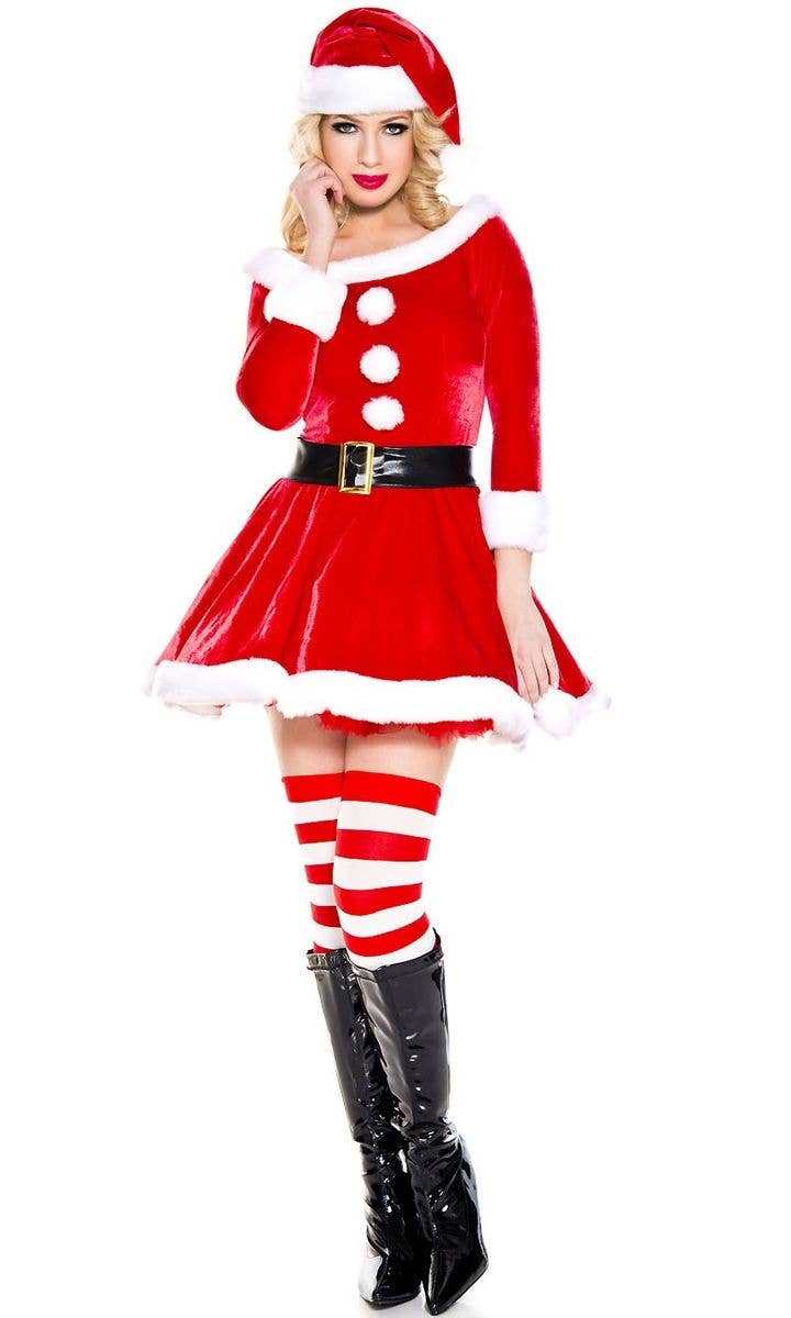 33d543838d7 Santa Clause Sexy Women's Costume   Women's Sexy Christmas Costume