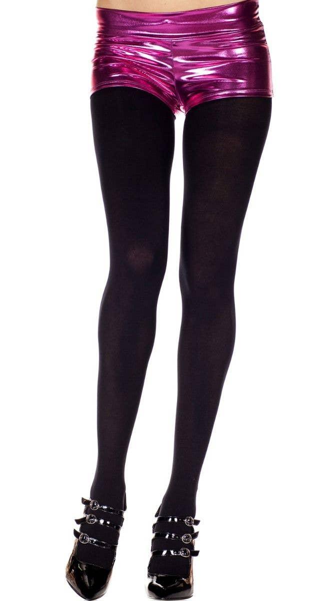 9de656f4d6ad6 Opaque Black Women's Pantyhose | Full Length Black Opaque Tights