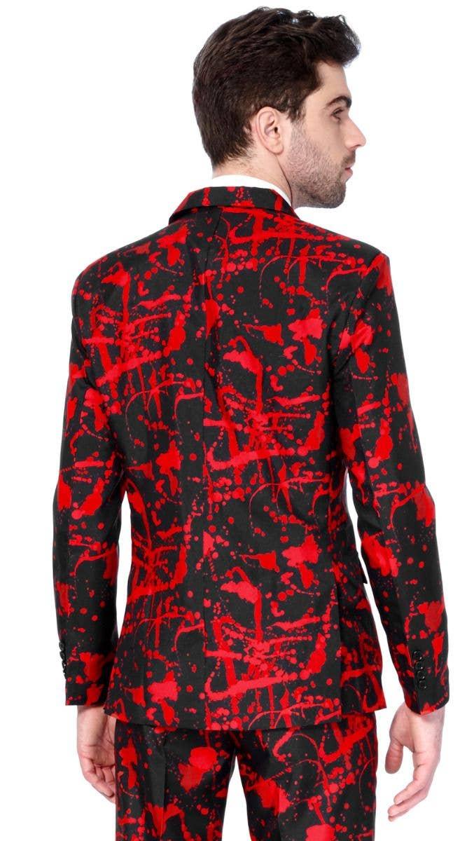 07bb2f908165 Men's Blood Splatter Halloween Suitmeister Opposuit Fancy Dress Zoom back  Image