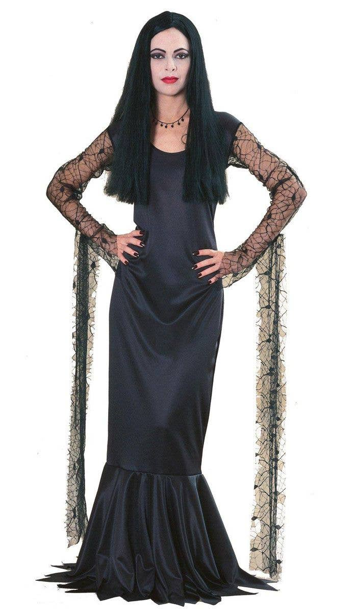 Addams Family Halloween Party.Addams Family Morticia Women S Halloween Costume