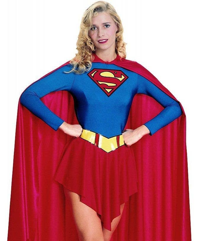 More Views of Womenu0027s Supergirl Costume  sc 1 st  Heaven Costumes & Classic Supergirl Womenu0027s Superhero Costume Adult Superhero Costume