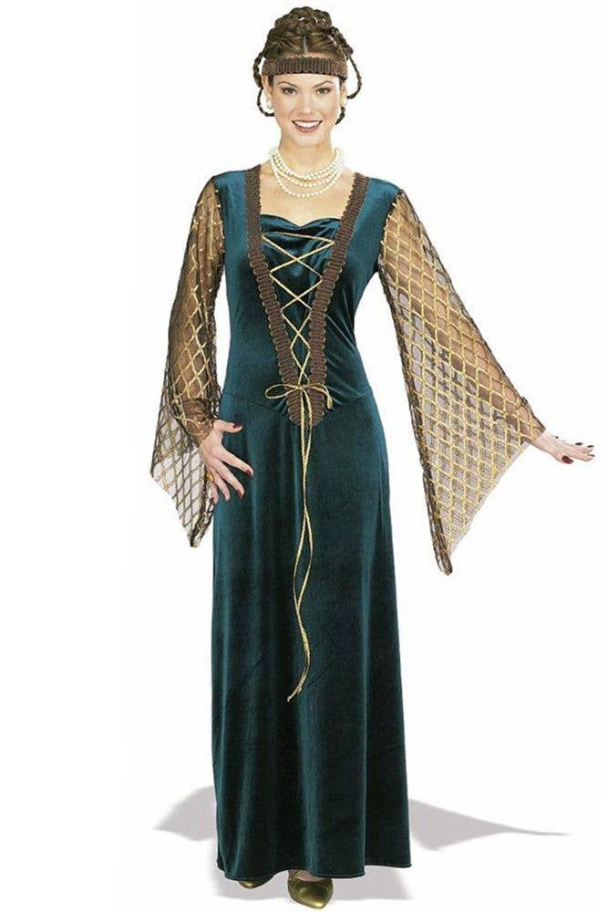 Queen Guinevere Medieval Women\u0027s Fancy Dress Costume