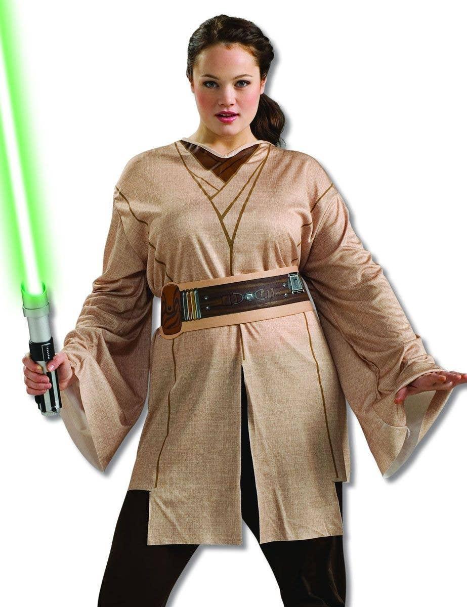 Jedi Knight Women's Costume | Women's Plus Size Star Wars ...
