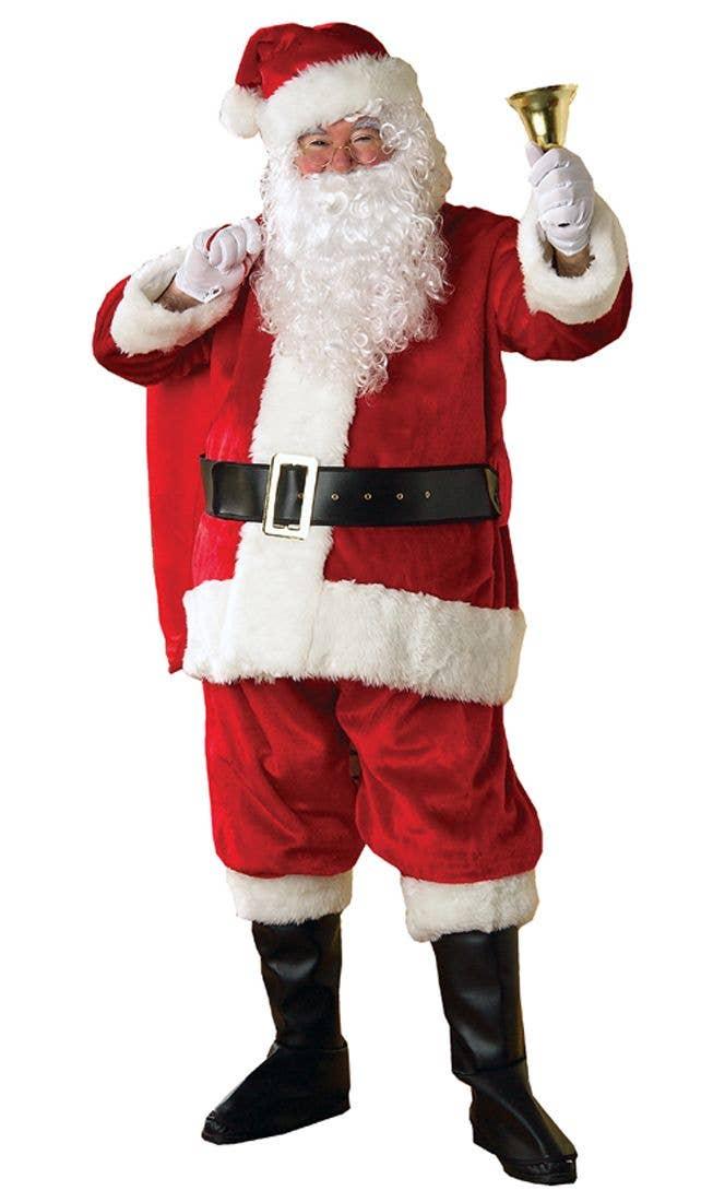 7e69ed5d2c72c Deluxe Plush Father Christmas Santa Suit Costume