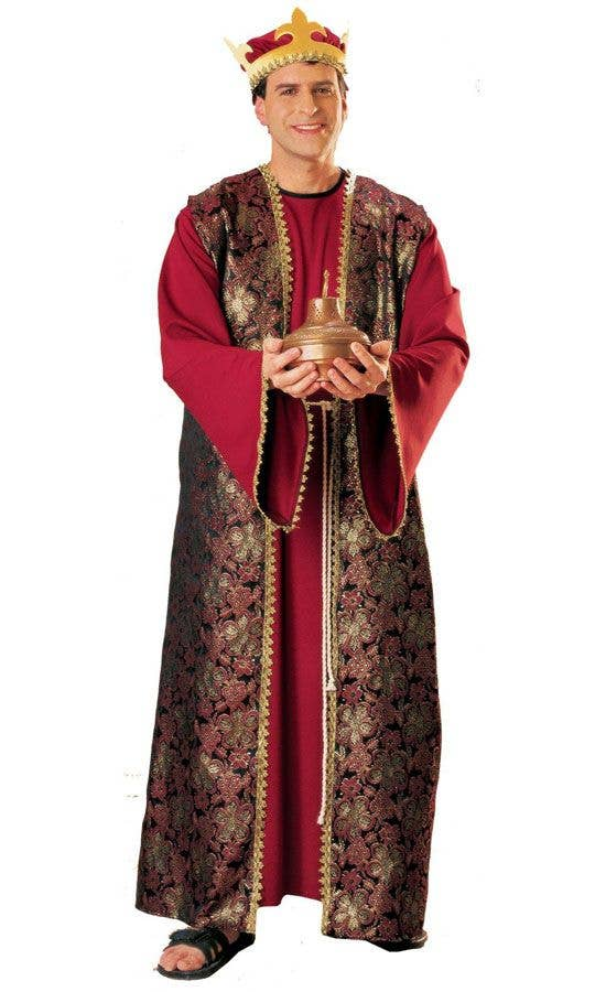Adults Three Wise Men Christmas Nativity Costume  sc 1 st  Heaven Costumes & Gaspar Menu0027s Nativity Costume | 3 Wise Men Adultu0027s Christmas Costume