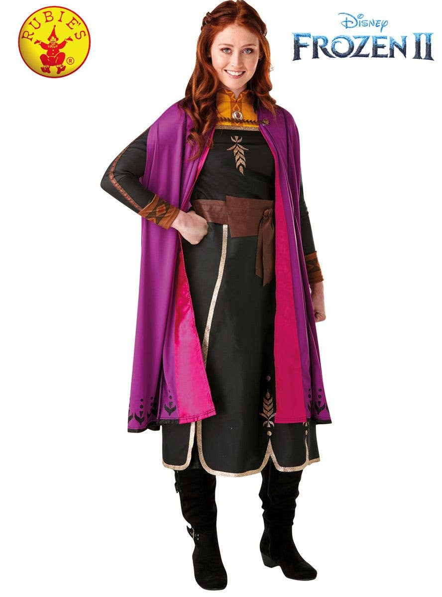 Frozen 2 Anna Women's Costume | Women's Anna Fancy Dress Costume