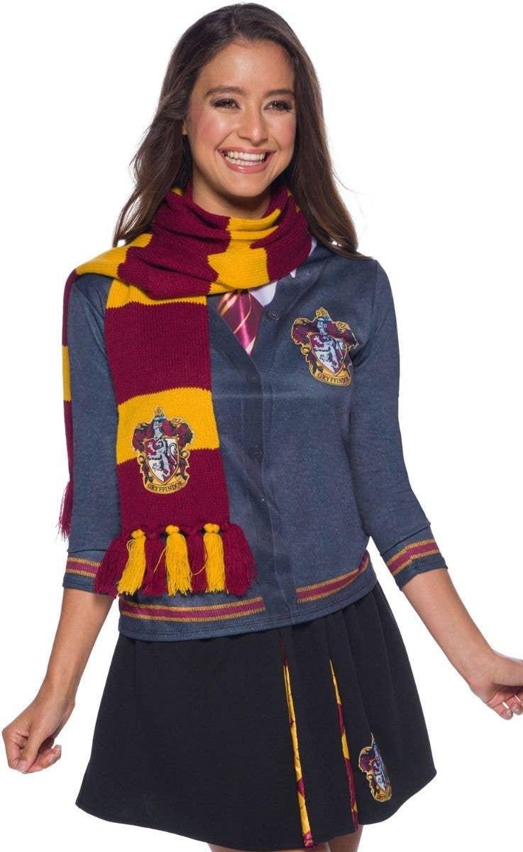 9545807c58d Harry Potter Gryffindor Deluxe Scarf