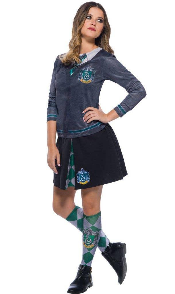 e80e13ef7 Women s Slytherin House Harry Potter Costume Skirt Main Image