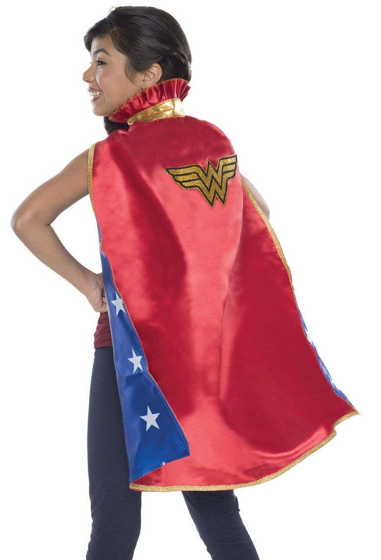 665079fc5 Wonder Woman Kids Red Cape | Wonder Woman Kid's Costume Cape