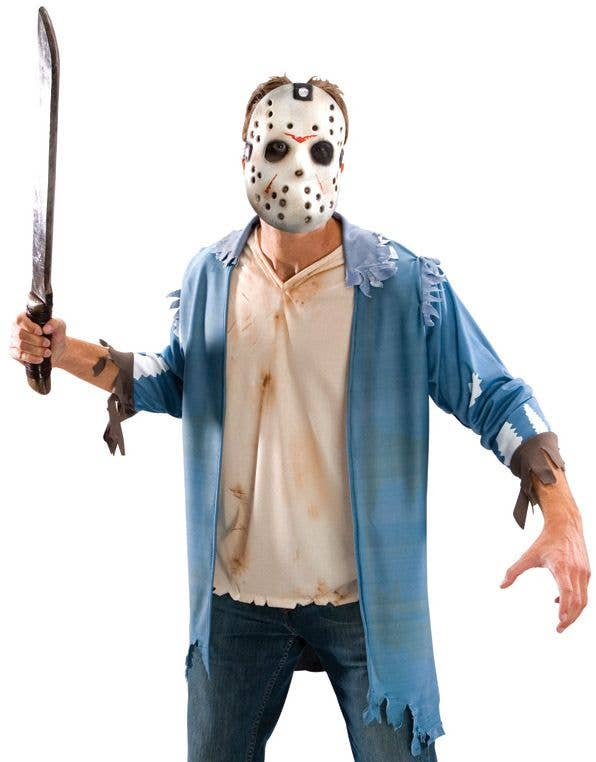 Jason Voorhees Friday The 13th Halloween Costume Kit