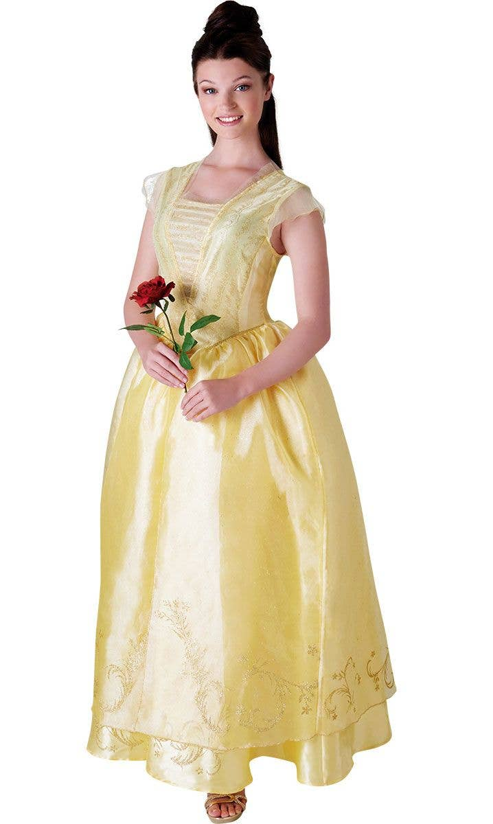 Deluxe Women s Disney Princess Belle Beauty and the Beast Costume 360b583736b3