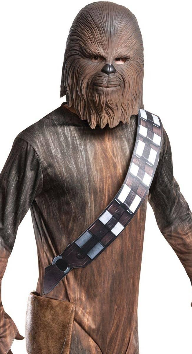 ... Chewbacca Adultu0027s Fancy Dress Star Wars Costume Close Image  sc 1 st  Heaven Costumes & Adults Chewbacca Deluxe Fancy Dress Costume | Deluxe Chewbacca Costume