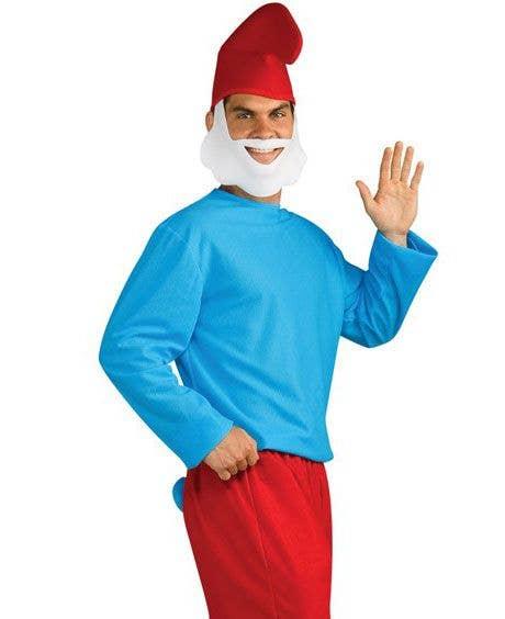 The Smurfs Papa Smurf Men S Costume Smurf Fancy Dress Costumes
