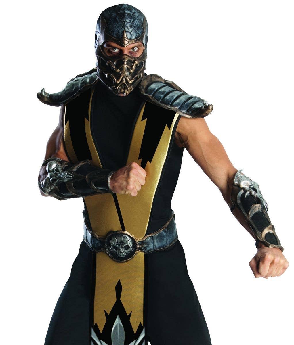 Scorpion Mortal Kombat Men's Costume | Gaming Character Costume