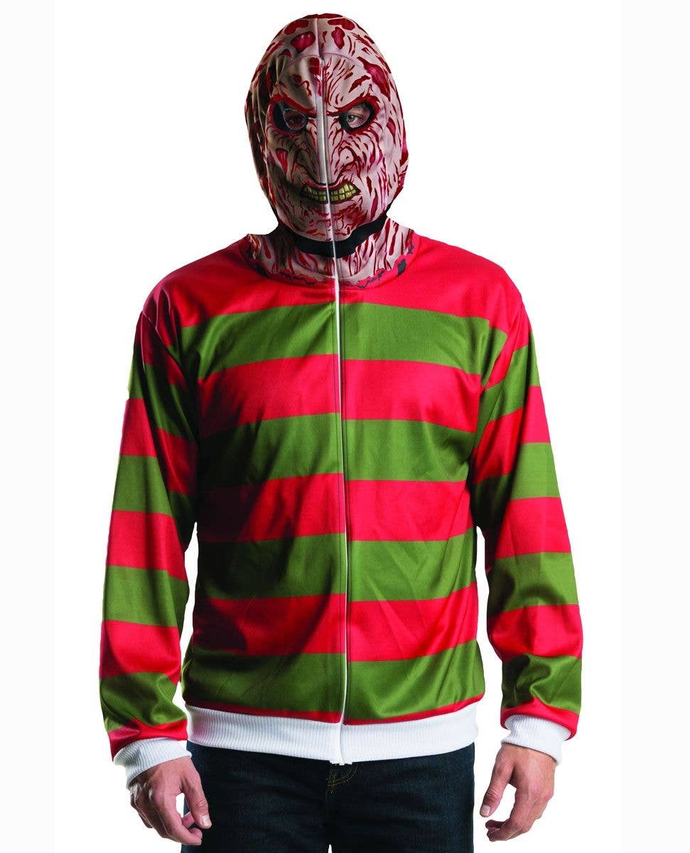 men's freddy krueger costume | nightmare on elm street men's jumper