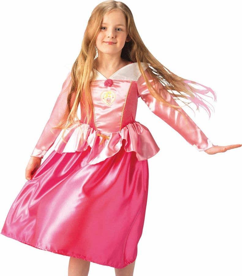 Classic Sleeping Beauty Princess Girls Costume