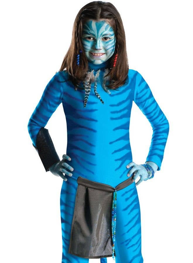 ... Avatar Girlu0027s Neytiri Fancy Dress Costume Front View  sc 1 st  Heaven Costumes & Avatar Neytiri Girls Costume | Avatar Fancy Dress Kids Costume