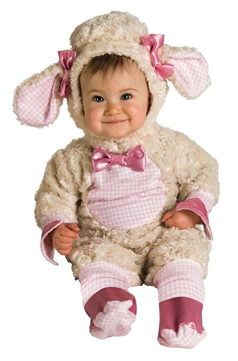 Lucky Little Lamb Baby Costume Animal Infant Girls Onesie Costume