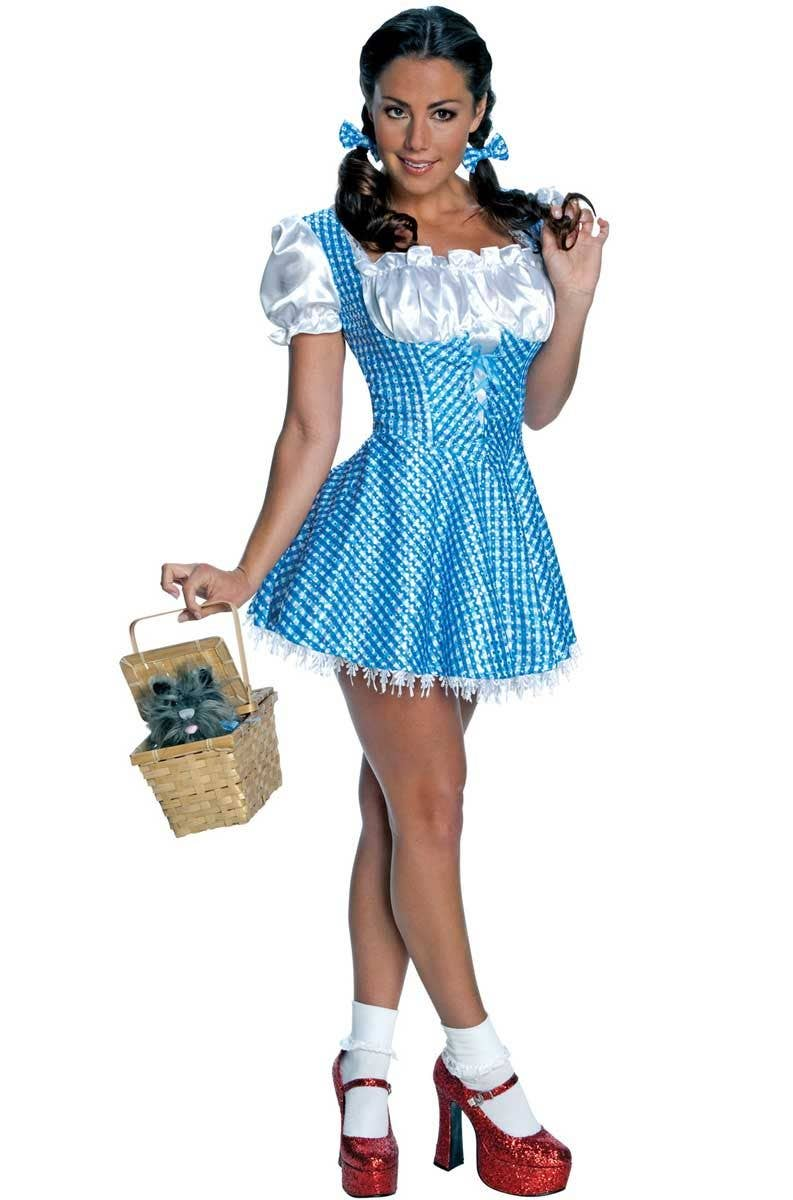 aa5e36a0c7d Darling Dorothy Sequined Sexy Women's Costume