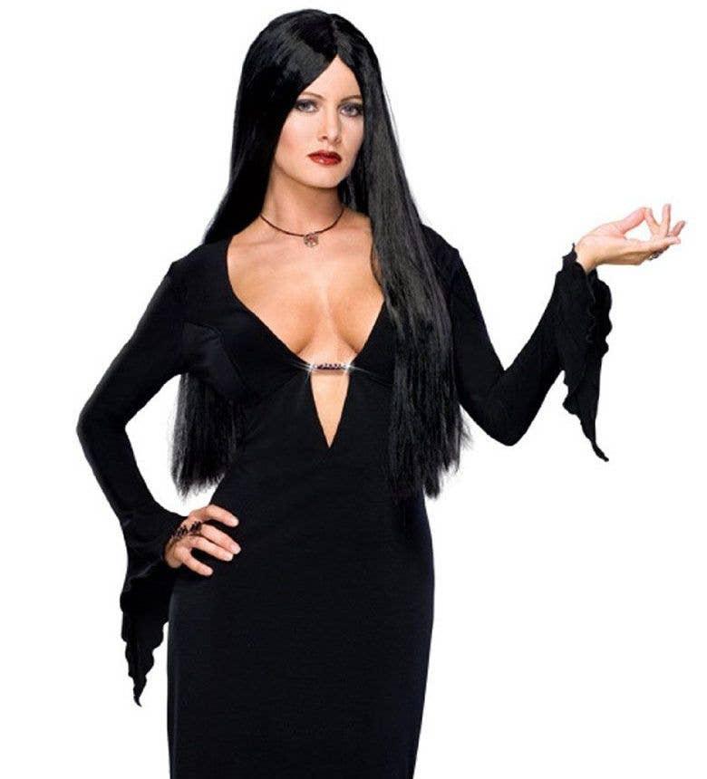 Addams Family Morticia Sexy Women S Halloween Costume