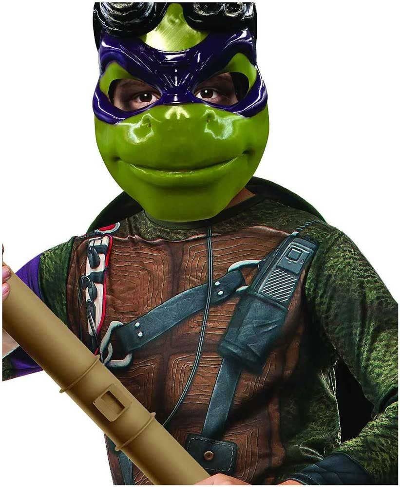 Teenage Mutant Ninja Turtle Boyu0027s Donatello Costume Close View  sc 1 st  Heaven Costumes & Donatello Boys Costume | Teenage Mutant Ninja Turtle Kids Costume