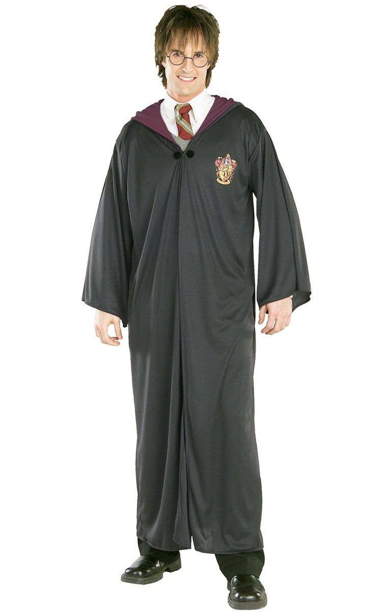 e98fe986b9 Harry Potter Adults Gryffindor Hogwarts Fancy Dress Costume Robe front view