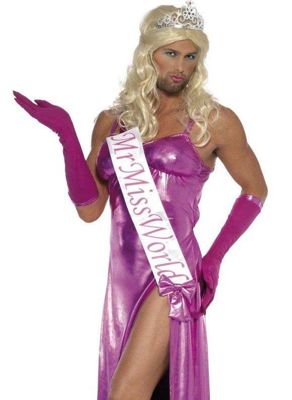 Mr Miss World Men S Funny Costume Men S Drag Queen Costume