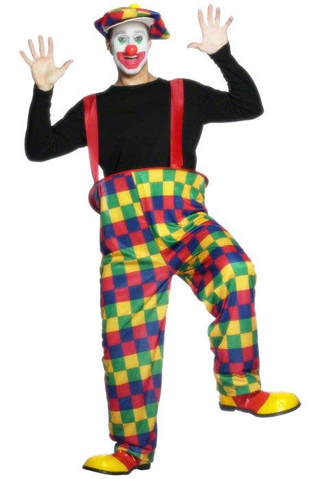 Circus Clown Fancy Dress Costume Cheap Adult S Clown Costume